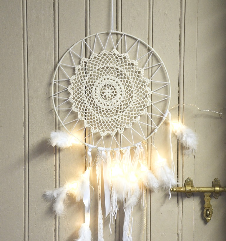 attrape reve dreamcatcher diy