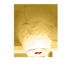 Lanterne volante blanche balloon