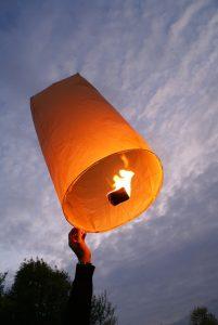 lanterne céleste skylantern