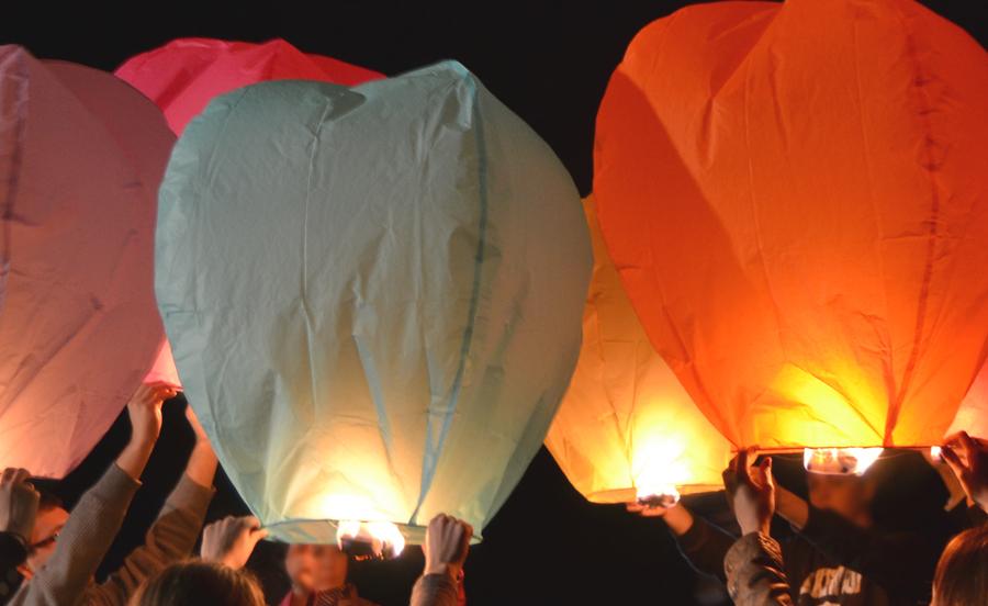 La famille des lanternes volantes s'agrandit !