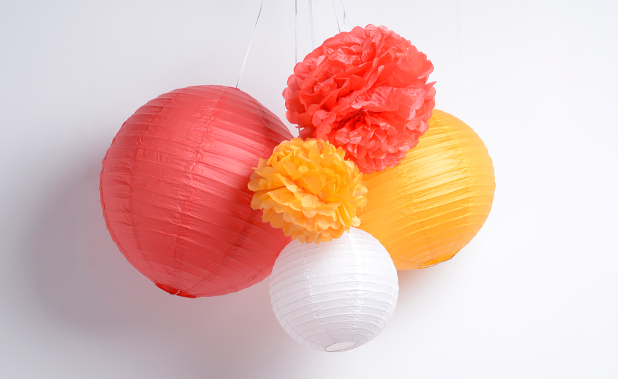 decoration-papier-boule-pom