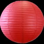 boule rouge lampion chinois 50 cm