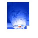 lanterne volante bleu roi - skylantern