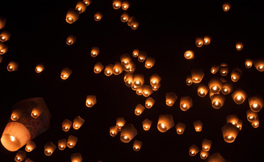 Le festival des lanternes célestes de Pingxi 2014
