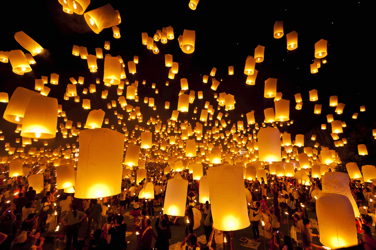 wishlanterns lacher lanternes volantes