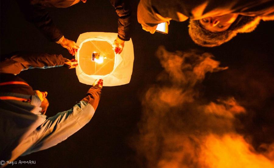 Des lanternes pour les pupilles des sapeurs-pompiers de Valmorel