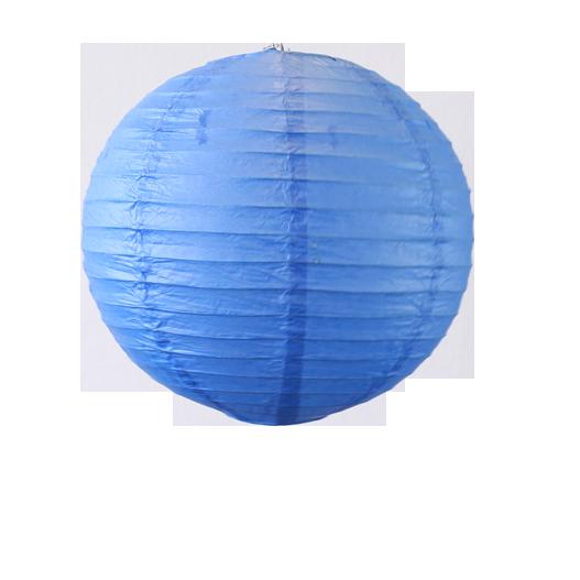 lampion boule papier 30cm bleu roi skylantern le blog. Black Bedroom Furniture Sets. Home Design Ideas