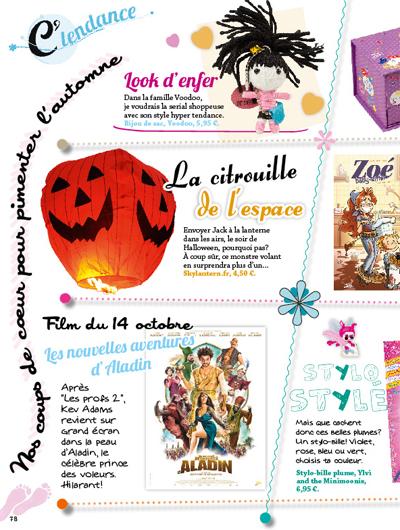 lanterne citrouille magazine enfant
