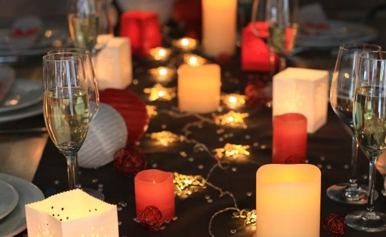 deco lumineuse bougies idees deco noel