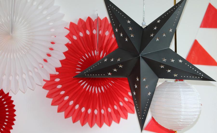 étoile papier décoration automne 2016