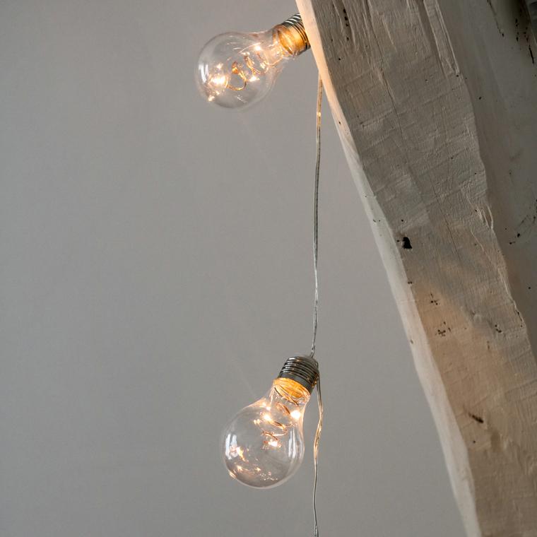 guirlande ampoule led suspension skylantern le blog enchanteur. Black Bedroom Furniture Sets. Home Design Ideas