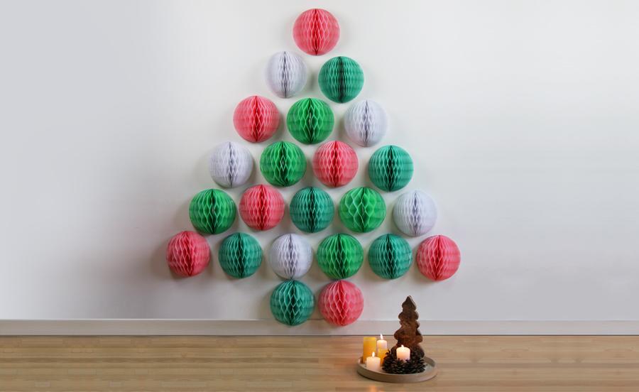 DIY de Noël n°1 : le sapin lampion