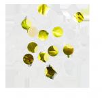 confettis blanc et or - skylantern