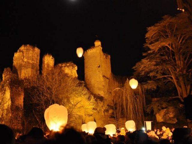 lanternes blanches