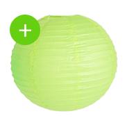 boule papier vert