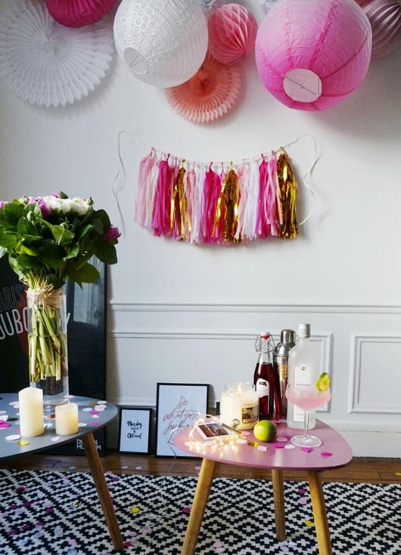 Idées décoration saint valentin rose soyons futiles