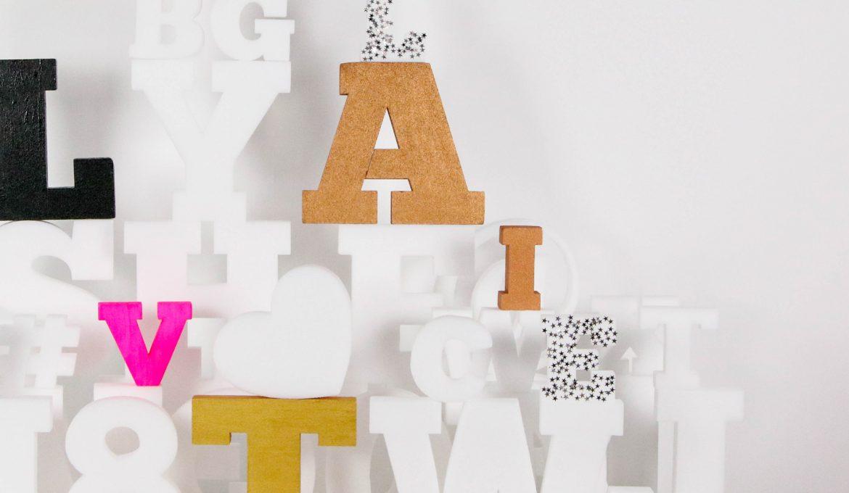 Lettres Polystyrène : personnalisez vos messages à l'infini !