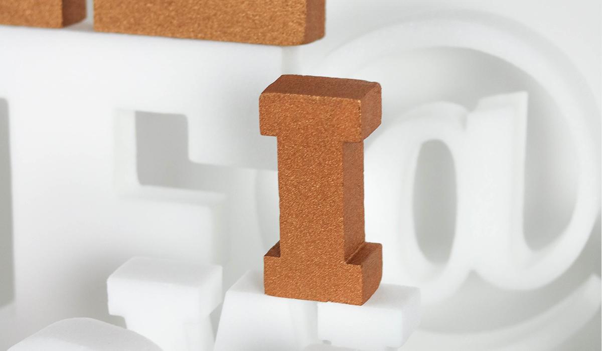 plastique lettres à customiser deco