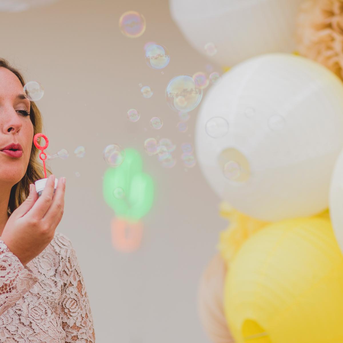 bulles mariage decoration fete