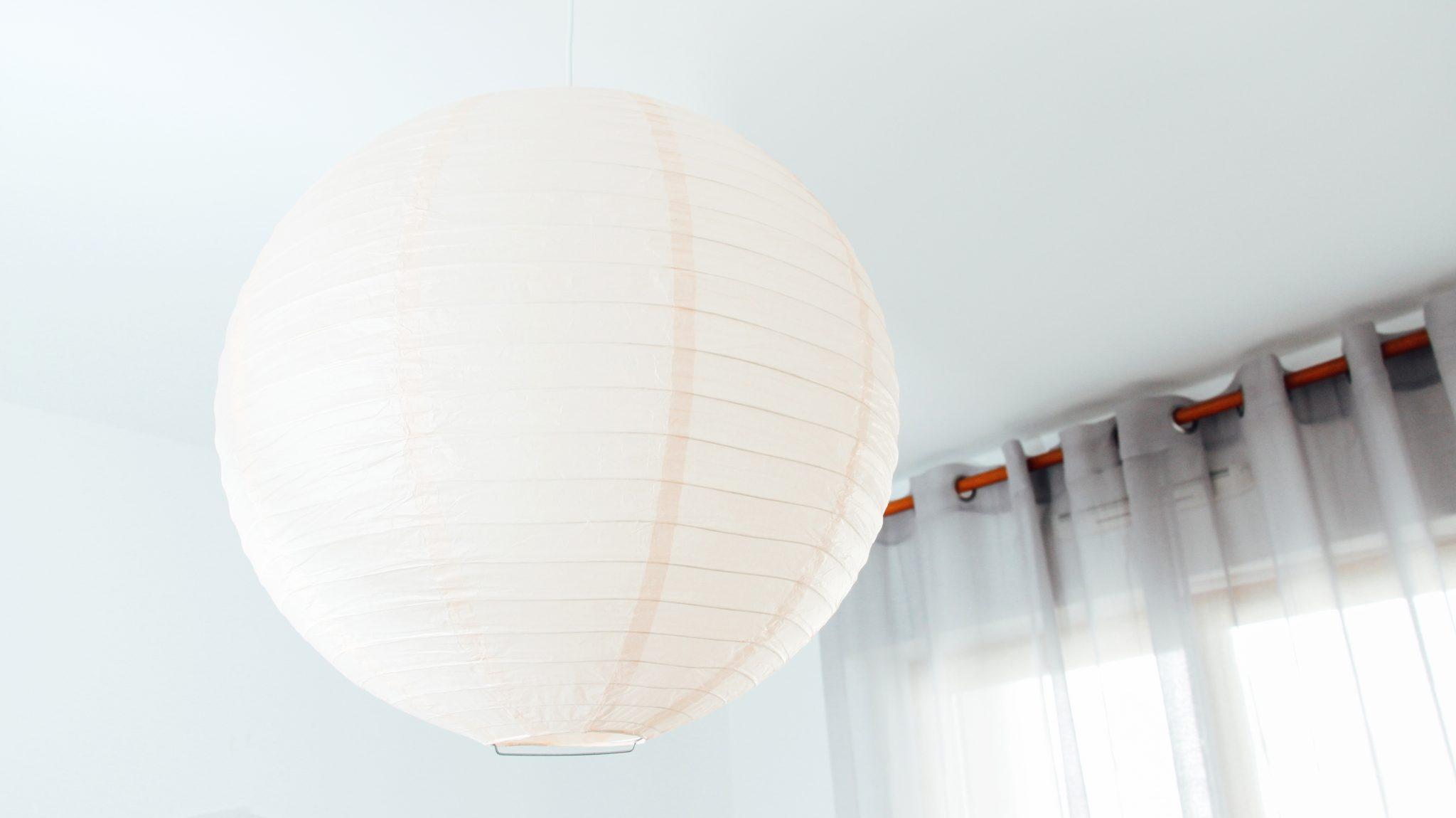 boule japonaise peche luminaire