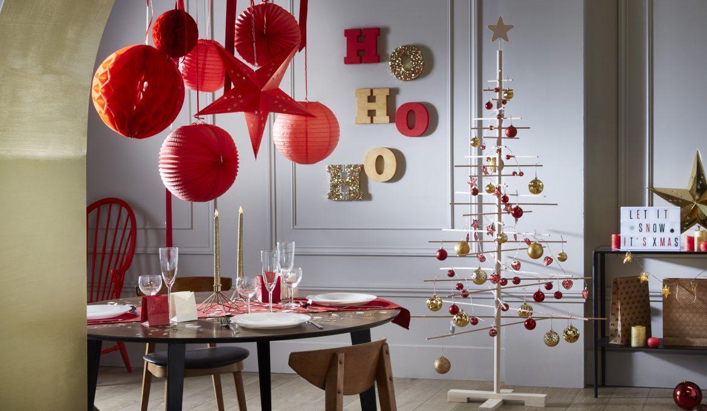 Déco Noël rouge et or : les secrets de notre ambiance Noël à Vienne