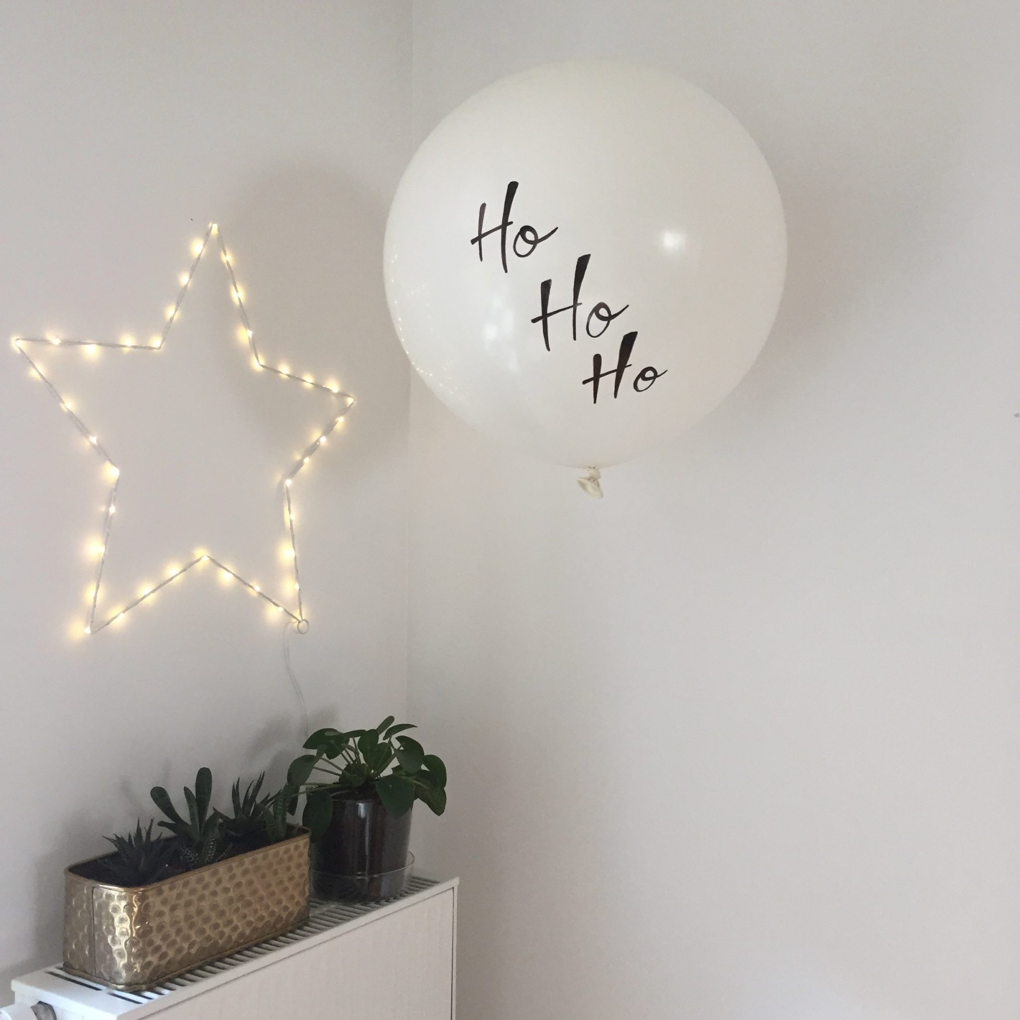 étoile lumineuse led 49 cm décoration Noel blanc