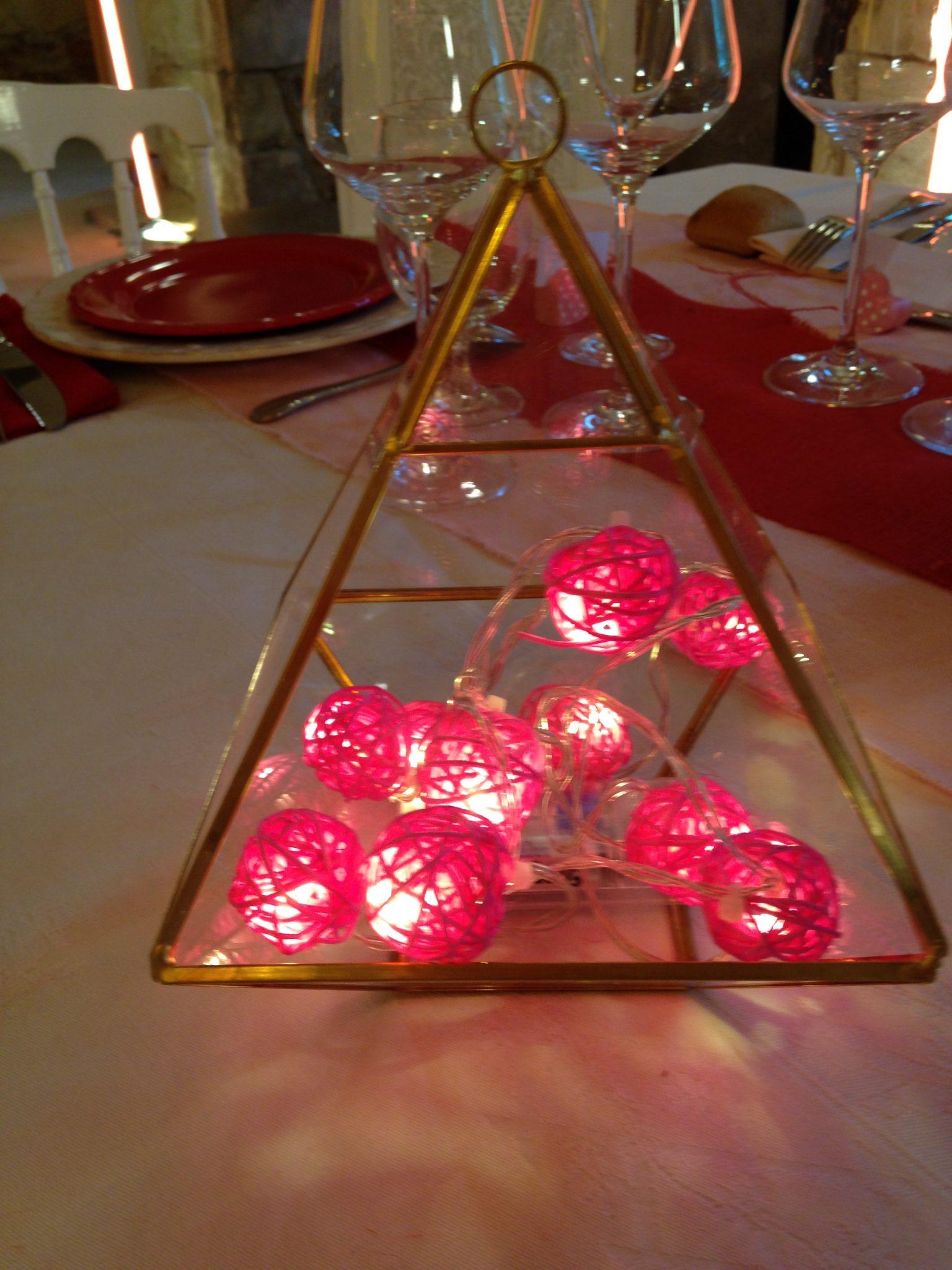 guirlande led rose lumineuse table mariés au premier regard m6 2017 saison 2