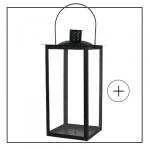 Lanterne métallique pas cher noir