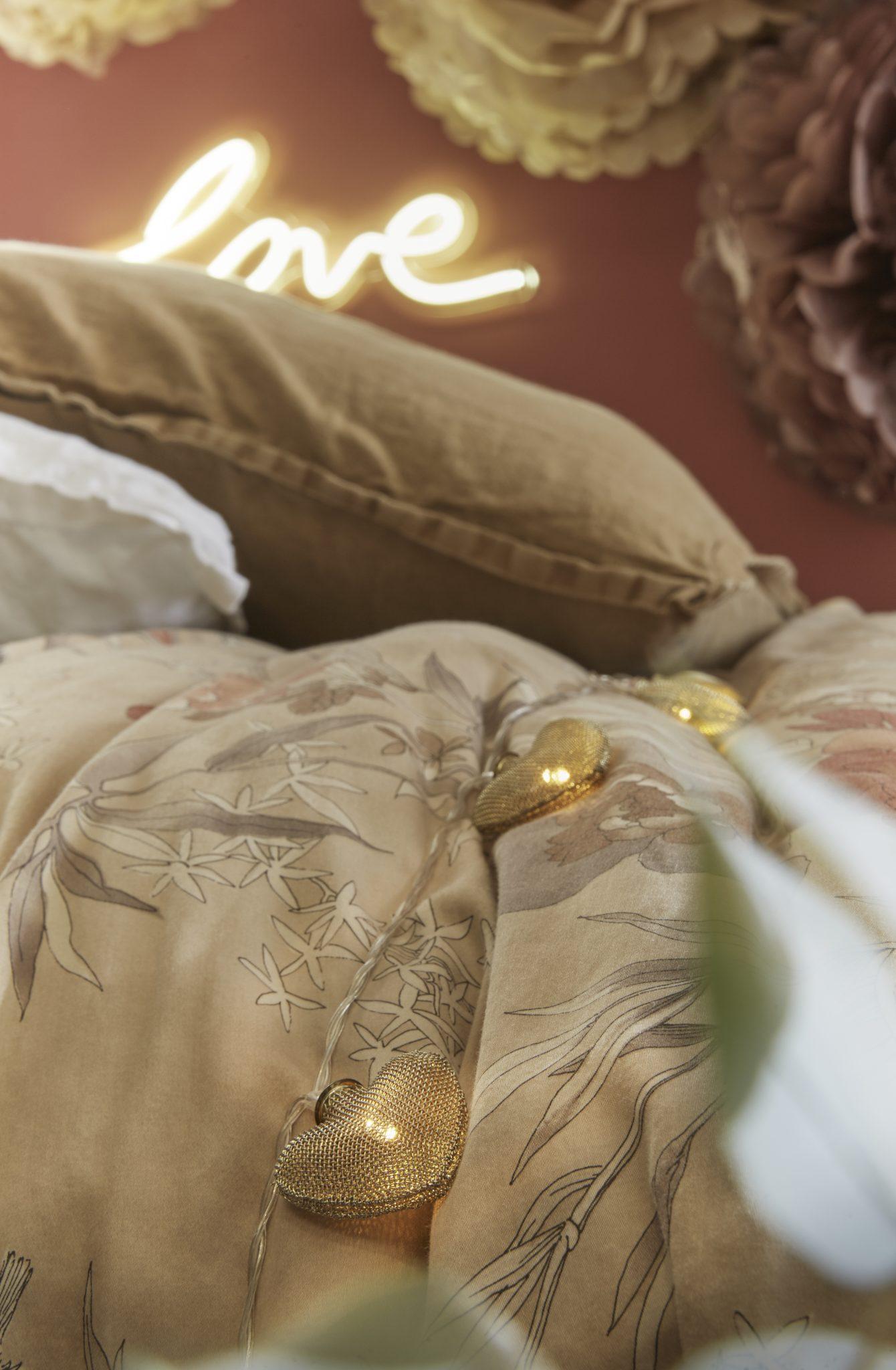 guirlande lumineuse décoration tendance saint valentin 2018 love