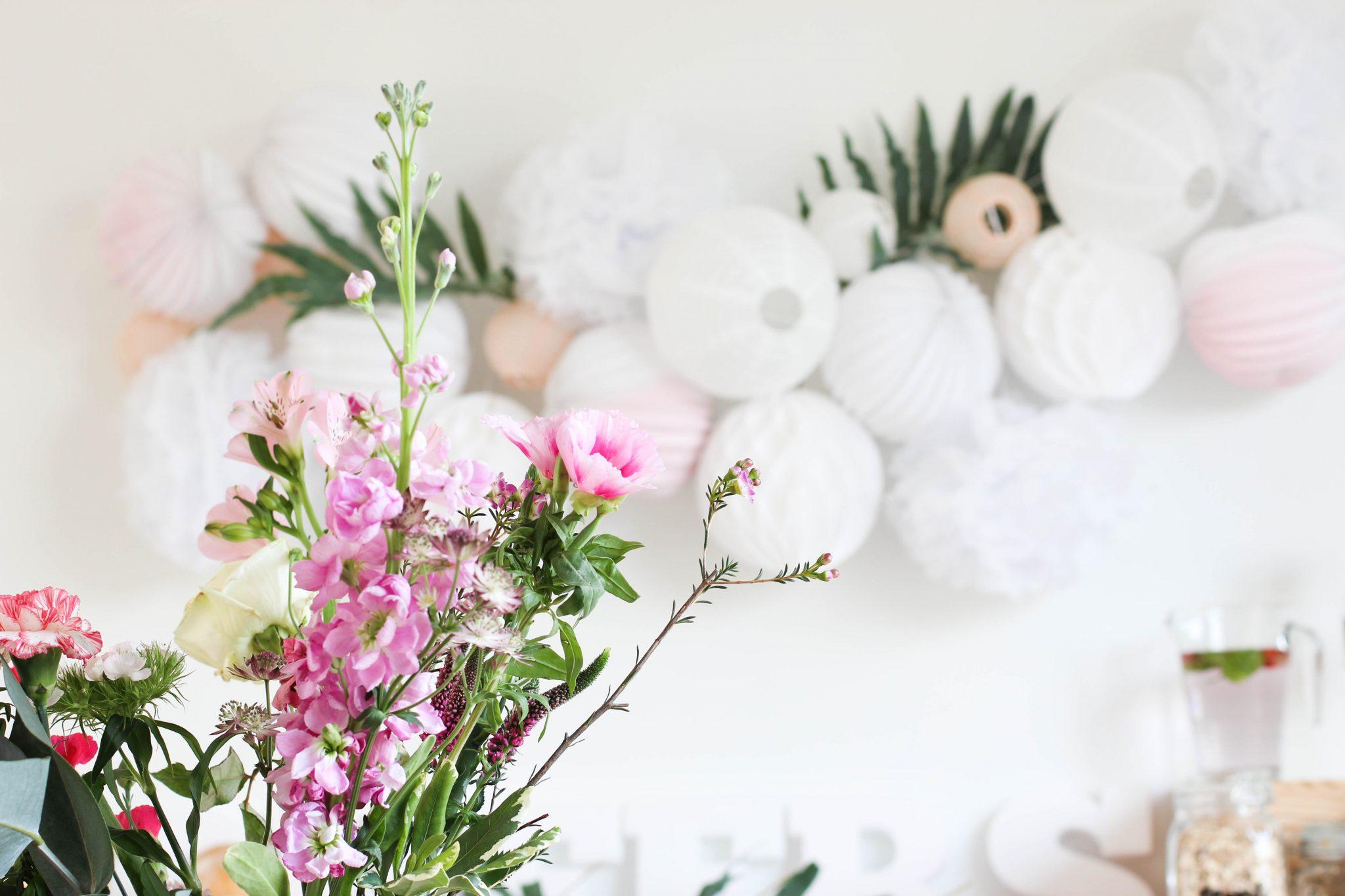 Boules De Couleurs Pour Decorer Bouquet