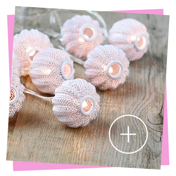 guirlande lumineuse pumpkins blanc led boitier à piles boules