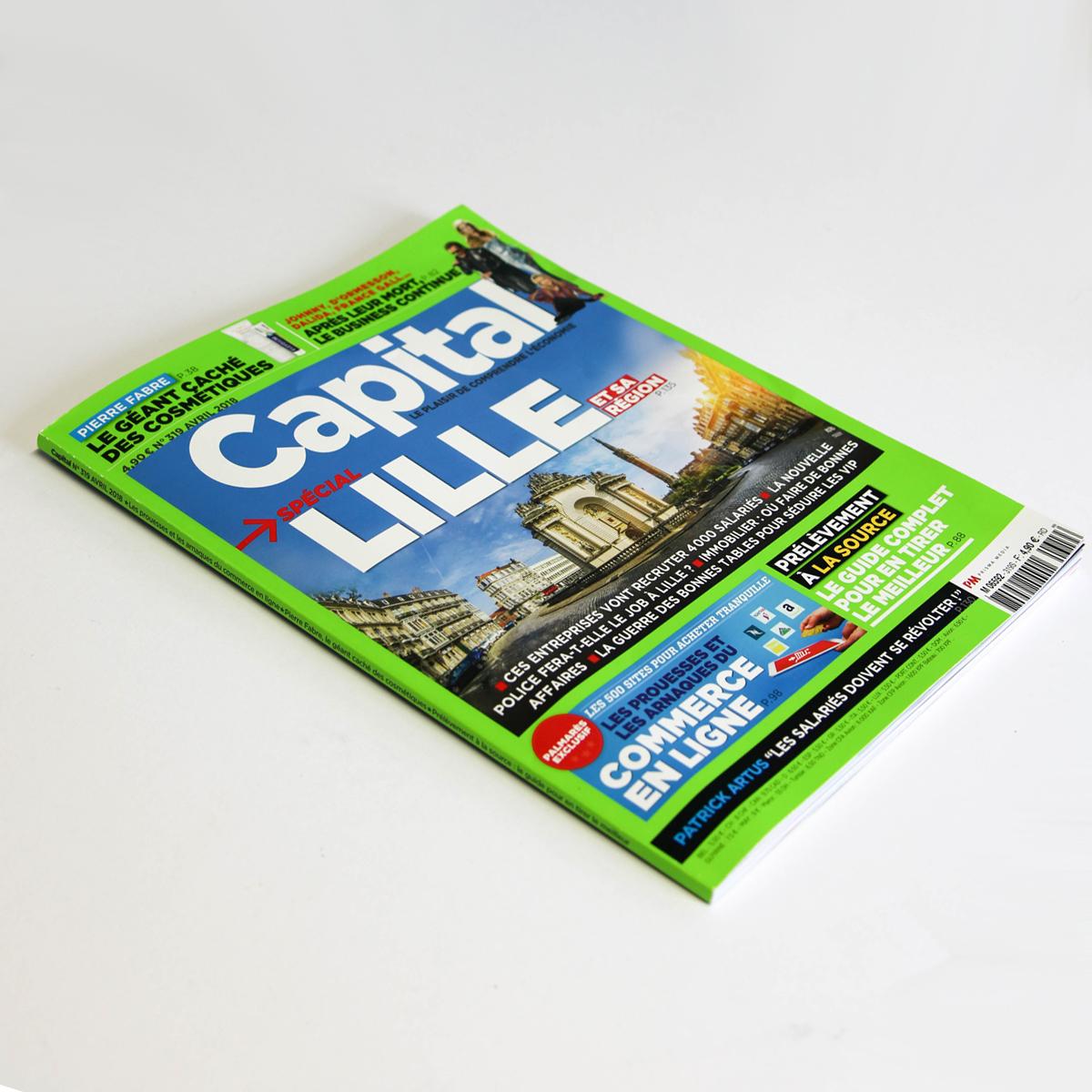 capital magazine spécial lille et sa région avril 2018 n°319