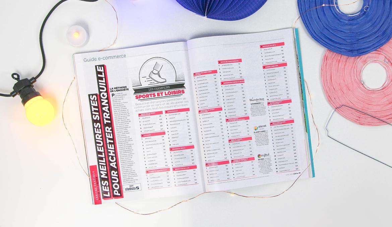 Guide e-commerce Sports et Loisirs : SkyLantern dans le Magazine Capital
