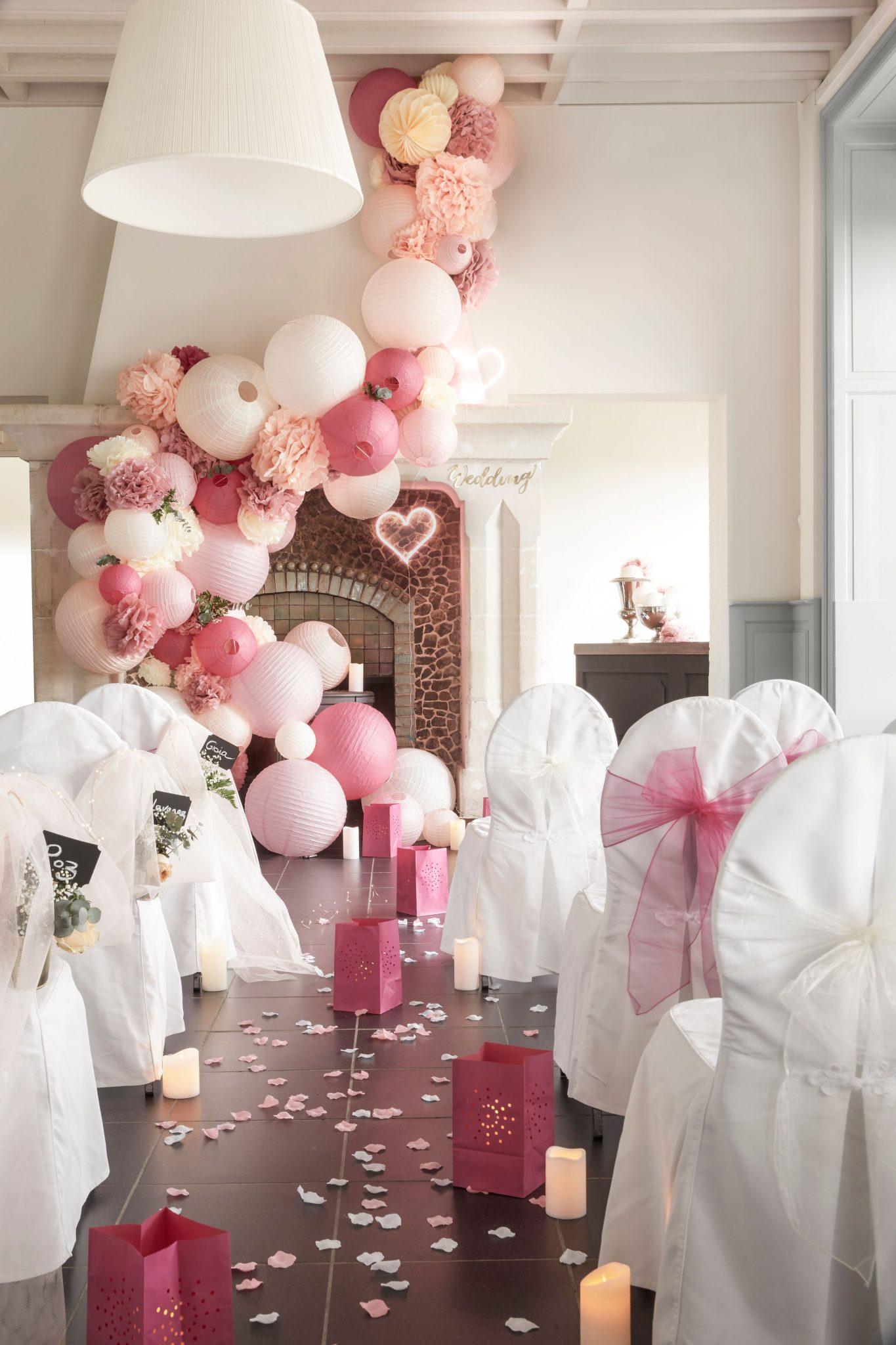 Comment Faire Des Boules En Papier déco cérémonie mariage : inspiration, conseils et sélection