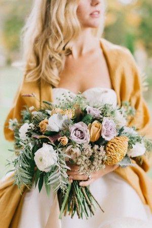 mariee mariage jaune cumin moutarde tendances decoration 2019