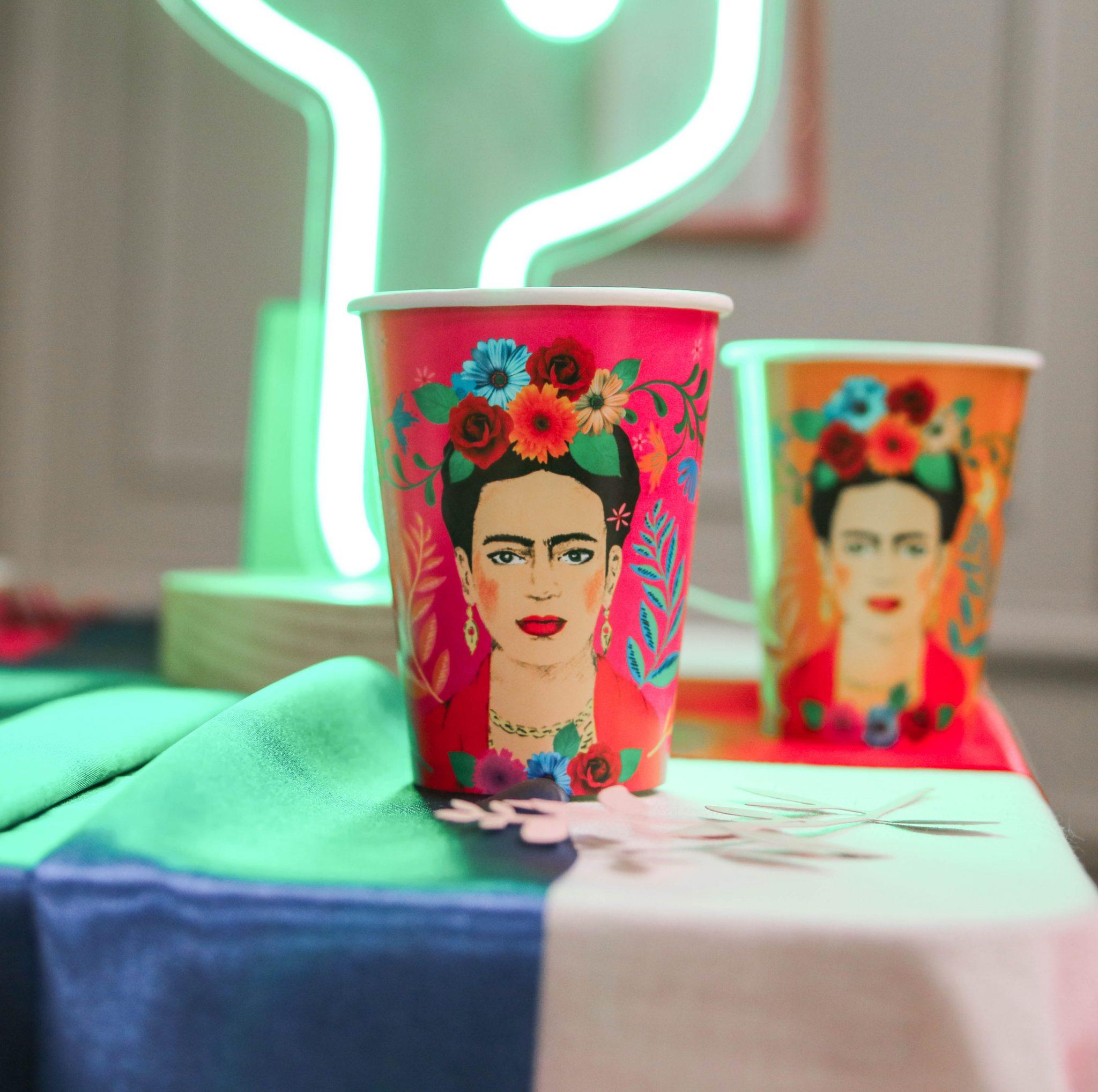 gobelets frida kahlo tendance décoration noel mexicain
