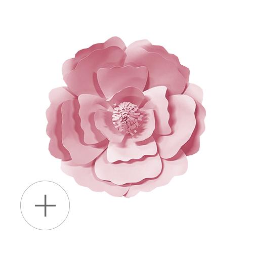 fleur papier murale deco mariage 2019 tendances photocall candy bar