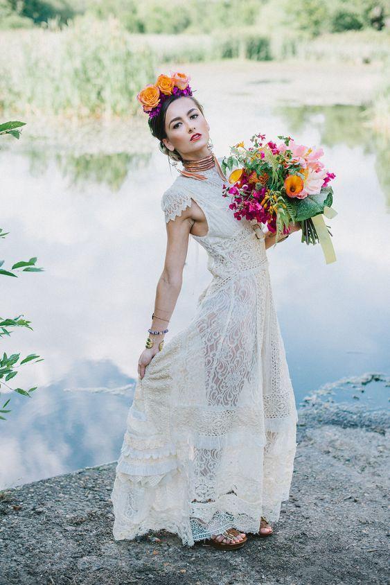 mariage tendance deco 2019 mexique frida khalo folk