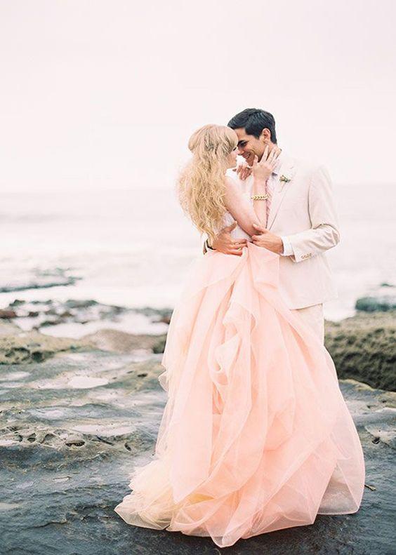 tendances decoration mariage 2019 peche couleurs mode